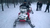 Northern Lights Snowmobile Hunt from Ruka including Campfire Picnic, Lapland, Ski & Snow