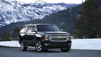 Luxury SUV Transportation from Denver Airport to Ski Resorts Breckenridge Vail or Aspen, Denver