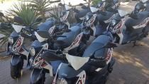 Scooter hire 1 hour driver with passenger, Cape Town, City Tours