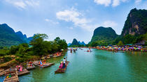 Day trip from Guilin of Li River Cruise with Countryside Cycling Plus Bamboo Rafting, Guilin