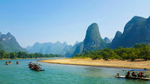 Li River Cruise Tour of Yangshuo With Jiuxian Village and Optional Yulong Bamboo Rafting, Guilin, ...