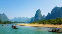 Li River Cruise Tour of Yangshuo With Jiuxian Village and Optional Yulong Bamboo Rafting, Guilin,...