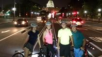 DC Monuments at Night by Bike, Washington DC, Private Sightseeing Tours