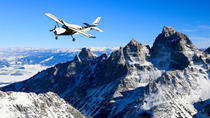 60 Minute Scenic Flight Tour of the Tetons, Grand Teton National Park, Air Tours