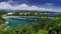 Huatulco Bay Day Trip with Catamaran Ride, Snorkeling and Beach Break from Puerto Escondido , ...