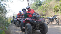 LIVE THE ADVENTURE WITH ADRENALINE IN ATVS RAFTING JUNGLE RIVER FAUNA AND FLORA, Puerto Escondido, ...