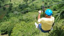 Excursion en bord de mer : descente en tyrolienne au Country World Adventure Park, Puerto Plata, Croisières cabotage