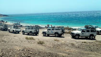 Off-Road Jeep Safari Tour door Inner Fuerteventura en Cotillo Beach, Fuerteventura