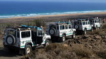 Safaritour in 4x4-jeep in Cofete Beach en Villa Winter, Fuerteventura