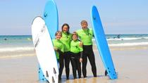 Private Family Surf Lesson in Newquay (for 2 adults and 2 children 8-18 years), Newquay, Surfing ...