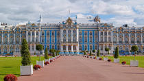 Half-Day Tour to Pushkin and Catherine's Palace from St. Petersburg, St Petersburg, Private...