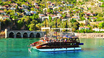 Alanya Catamaran Boat Tour with Sunbathing Swimming and Snorkelling, Alanya, Catamaran Cruises