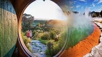 Wai-O-Tapu and Hobbiton Movie Set Tour including Lady Knox Geyser, Day Tour From Rotorua, Rotorua,...
