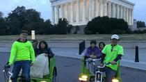 DC Monuments and Memorials Pedicab Tour, Washington DC, Private Sightseeing Tours