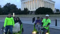 DC Monuments and Memorials Private Pedicab Tour, Washington DC, Night Tours
