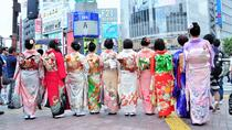 Kimono Rental and Photoshoot at the Shibuya Crossing, Tokyo, Cultural Tours