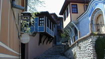 Old town of Plovdiv with wine tasting tour