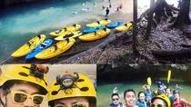Cave Kayaking and Zipline Combo Tour from Belize City, Belize City, Adrenaline & Extreme