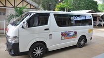 Exclusive van from port barton or san vicente to puerto princesa airport, プエルトプリンセサ