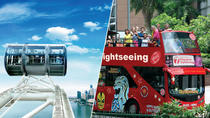 Singapore Flyer e tour con 7 linee del pullman panoramico Hop-On Hop-Off (pass da 2 giorni), Singapore, Tour hop-on/hop-off