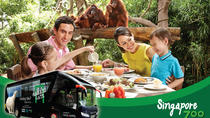 Zoo (Optional Breakfast with Orangutans) and 2-Way Safari Gate City Transfer, Singapore, Nature & ...