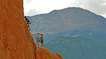 Escalada en roca privada en Garden of the Gods, Colorado Springs, Colorado Springs, Escalada
