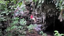 3-Hour San Juan Adventure: Cave Rappel and Zipline Safari with Lunch, San Juan