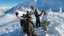 Helicopter Sightseeing Flight with Volcano Snowshoeing and Picnic, Fraser Valley, Helicopter Tours