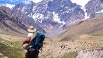 Juncal Andean Park: Hiking over a Glacial Tongue, Santiago, Hiking & Camping