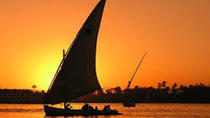 Real Life Egypt - Sunset Felucca Sail on the Nile with Egyptian Meal, Luxor, Sailing Trips