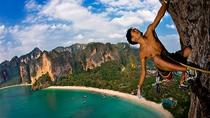 FULL DAY CLIMBING AT RAI LE BEACH, Krabi, Climbing