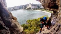 Full Day Rock Climbing Rai Lay Bay, Krabi, Climbing