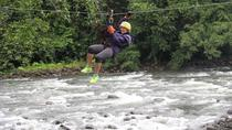 Adventure Combo Tour: Whitewater Rafting and Canopy, San Jose, Day Trips