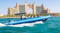 Dubai Palm Jumeirah and Palm Lagoon Guided RIB Boat Cruise, Dubai, Jet Boats & Speed Boats