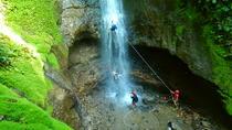 Hanging Bridges & Canyoning Combo, La Fortuna, Climbing