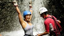 Waterfall Rappelling and White Water Rafting, La Fortuna, Attraction Tickets