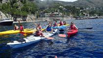 Kayak trip from marina del Cantone, Sorrento