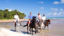 Luquillo Beach Horse Ride from Carabalí Rainforest Adventure Park, San Juan, Horseback Riding