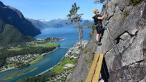 Romsdalsstigen Via Ferrata - Introwall, Trondheim, Climbing