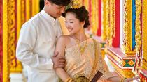 Wedding Shooting with Traditional Thai Dress by Professional photographer, Phuket