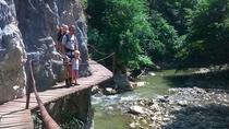 Walking tour in the Varghis Canyon with optional rock climbing and caving possibilities, ...