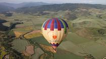 Hot Air Balloon Flight over the vineyards of the Rioja Wine Country, La Rioja, Balloon Rides
