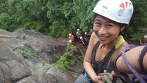 Half day rock climbing and rappelling experience just in Taipei city, Taiwan, Taipei, Climbing