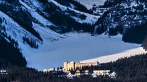 Lake Louise Winterland from Banff, Banff, null