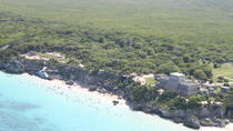 Take in a view of the islands and beaches from up in the sky
