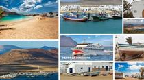 Cheap return ferry crossing from Orzola in Lanzarote to La Graciosa island, Lanzarote, Ferry ...