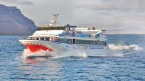 Cheap return ferry crossing from Orzola in Lanzarote to La Graciosa island