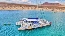 Luxury Catamaran Cruise Day Trip to La Graciosa, Lanzarote, Catamaran Cruises