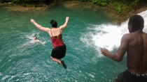 Falmouth Shore Excursion: Blue Hole, White River Tubing, Falmouth, Private Sightseeing Tours