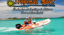 Boat rental To go by yourself, St Martin, Boat Rental